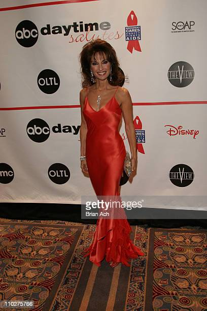 Susan Lucci during ABC Daytime Broadway Cares with Susan Lucci at Marroitt Marquis in New York City New York United States