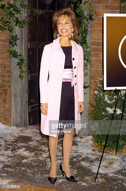 Susan Lucci during 'All My Children' 35th Anniversary Street Sign Dedication at ABC Studios in New York City New York United States