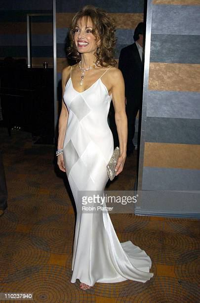 Susan Lucci during All My Childrens 35th Anniversary Celebration benefitting Broadway Cares Equity Fights Aids at The Rainbow Room in New York City...