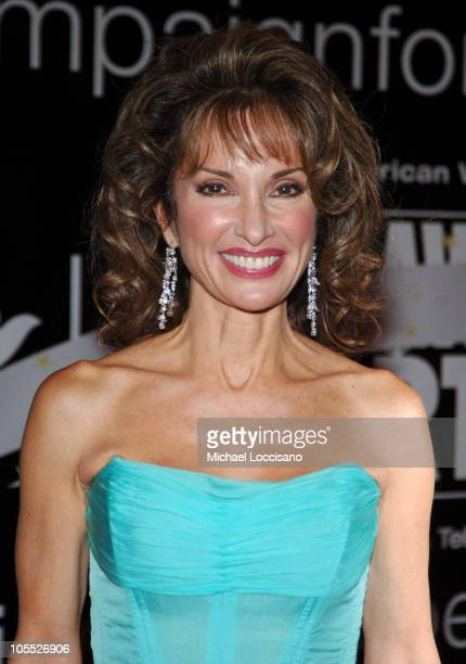 Susan Lucci during American Women in Radio Television's 30th Annual Gracie Allen Awards at The Marriott Marquis in New York City New York United...