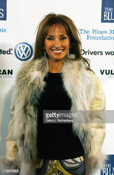 Susan Lucci during Arrivals for The Salute To The Blues Concert at Radio City Music Hall in New York NY United States