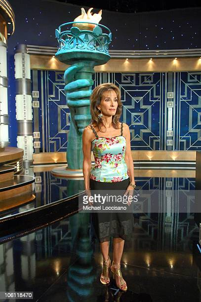Susan Lucci during 'Celebrity Jeopardy' Celebrates 5000th Episode and 23rd Season at Radio City Music Hall in New York City New York United States