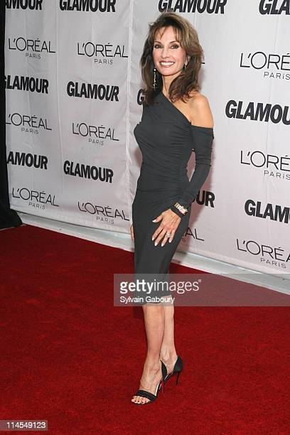 Susan Lucci during Glamour Magazine 2006 Women of the Year Awards Inside Arrivals at Carnegie Hall at 154 West 57th Street at 7th Avenue in New York...