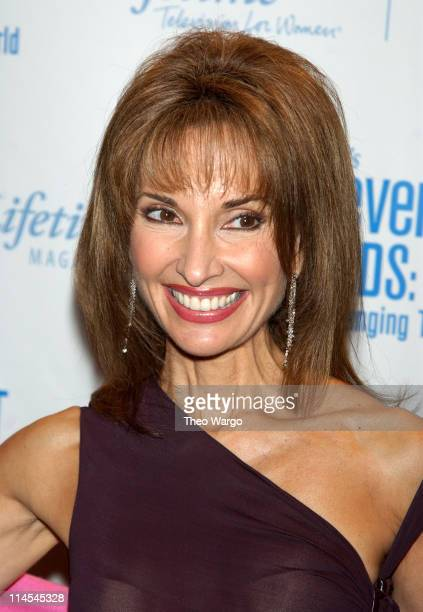 Susan Lucci during Lifetime's Achievement Awards Women Changing the World Arrivals at Manhattan Center in New York City New York United States