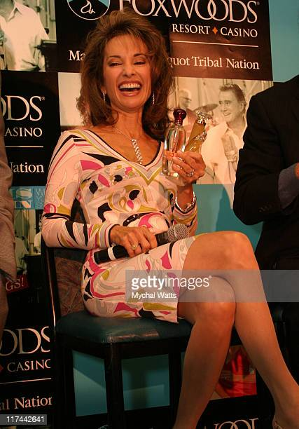 Susan Lucci during Regis Phjlbin and Susan Lucci Officially Open the Wampum Rewards Mega Store at Foxwoods Resort Casino in Mashantucket Connecticut...