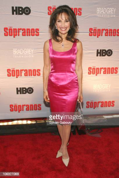 Susan Lucci during 'The Sopranos' Final Season World Premiere Arrivals at Radio City Music Hall in New York City New York United States
