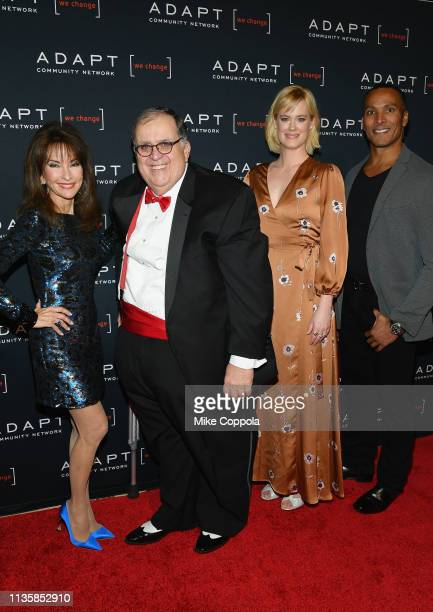 Susan Lucci Edward R Matthews Abigail Hawk and Mike Woods attend the The 2019 2nd Annual ADAPT Leadership Awards at Cipriani 42nd Street on March 14...