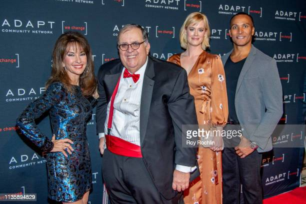 Susan Lucci Edward R Matthews Abigail Hawk and Mike Woods attend the 2019 Adapt Leadership Awards at Cipriani 42nd Street on March 14 2019 in New...