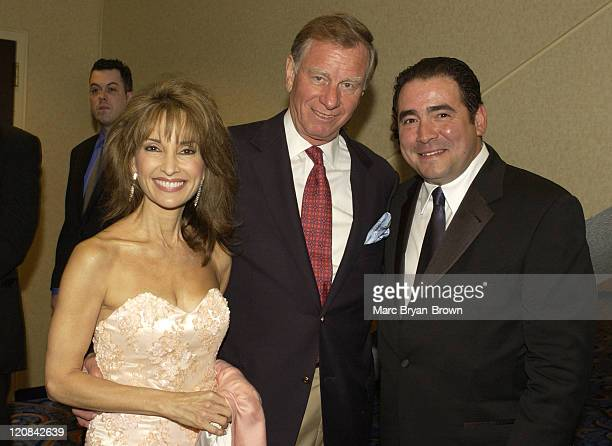 Susan Lucci Helmut Huber and show host Emeril Lagasse
