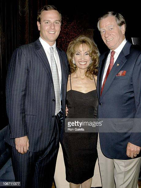 Susan Lucci Helmut Huber and son during Launch Party for What Jackie Taught Us Lessons from the Remarkable Life of Jacqueline Kennedy Onassis at Four...