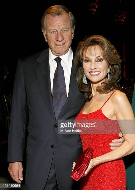 Susan Lucci Host and Helmut Huber Husband during The 2006 International Health and Medical Media Awards Inside at Cipriani's 42nd Street in Manhattan...