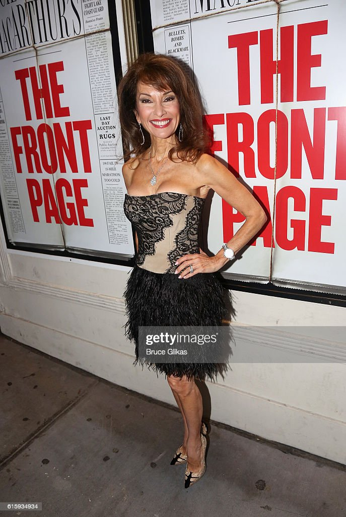 """The Front Page"" Broadway Opening Night"