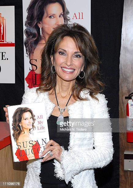 """Susan Lucci promotes her new book """"All My Life: A Memoir"""" at Bookends Bookstore on March 29, 2011 in Ridgewood, New Jersey."""