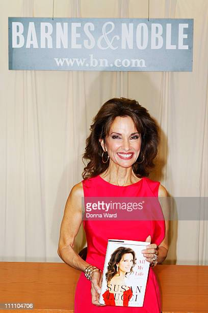Susan Lucci signs copies of All My Life A Memoir at Barnes Noble 5th Avenue on March 29 2011 in New York City