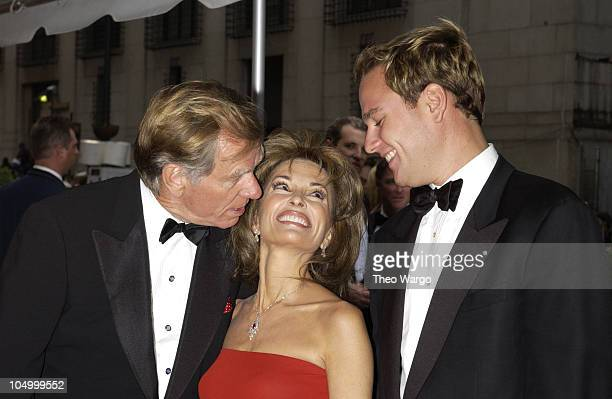 Susan Lucci with husband Helmut Huber and son Andreas Huber