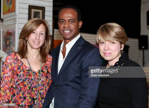 Susan Magazine Frederick Anderson and Laura Miller attend Park Avenue Garage Pop Up Garage Benefiting New Yorkers For Children at 38 West 26th Street...