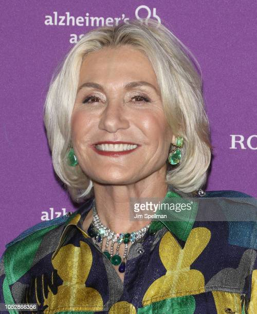 Susan Magrino attends the 35th Annual Alzheimer's Association Rita Hayworth Gala at Cipriani 42nd Street on October 23 2018 in New York City