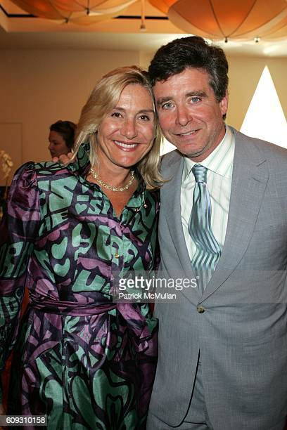 Susan Magrino Dunning and Jay McInerney attend MARTHA STEWART SIRIO MACCIONI and ANDREW BORROK Host a Lucheon to Celebrate 'NO RESERVATIONS' at Le...