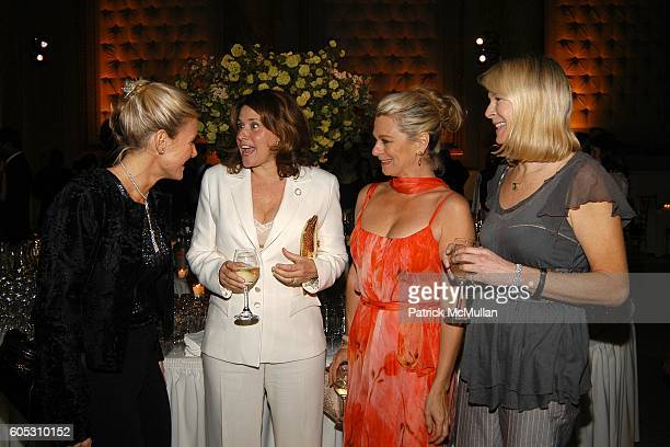 Susan Magrino Dunning Lorraine Bracco Debbie Bancroft and Leslie Klotz attend Dennis Basso and Michael Cominotto Dinner in Honor of the DENNIS BASSO...