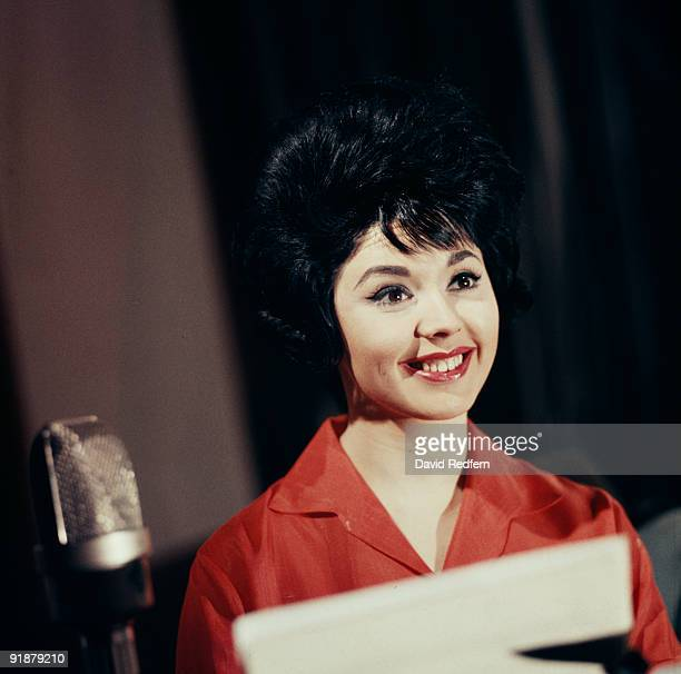 Susan Maughan recording at Rediffusion Television in London England in 1965