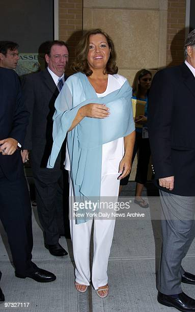 Susan McDougal arrives for a screening of the documentary film 'The Hunting of the President' at New York University McDougal a partner in the failed...