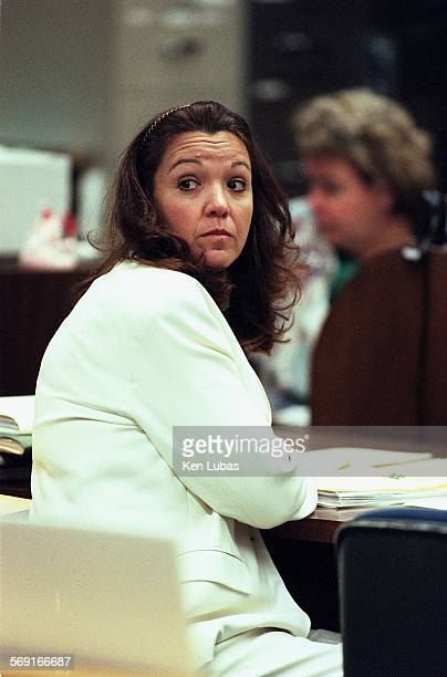 Susan McDougal listens to court proceedings at the Santa Monica Superior Court.