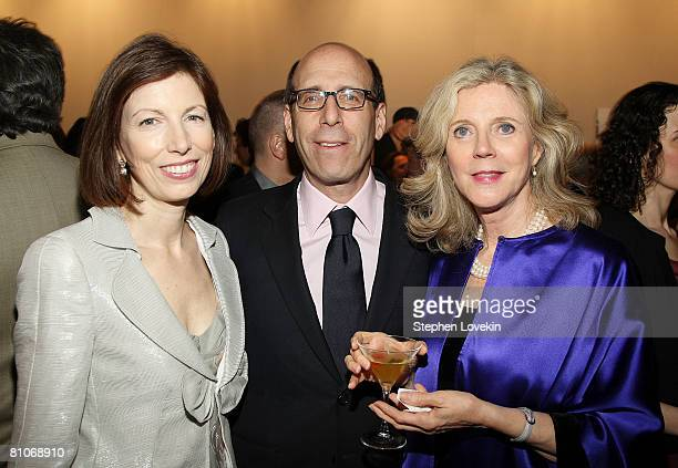 Susan McGuirk Showtime Chairman and CEO Matthew Blank and actress Blythe Danner attend ICP's 24th Annual Infinity Awards at Pier 60 at Chelsea Piers...