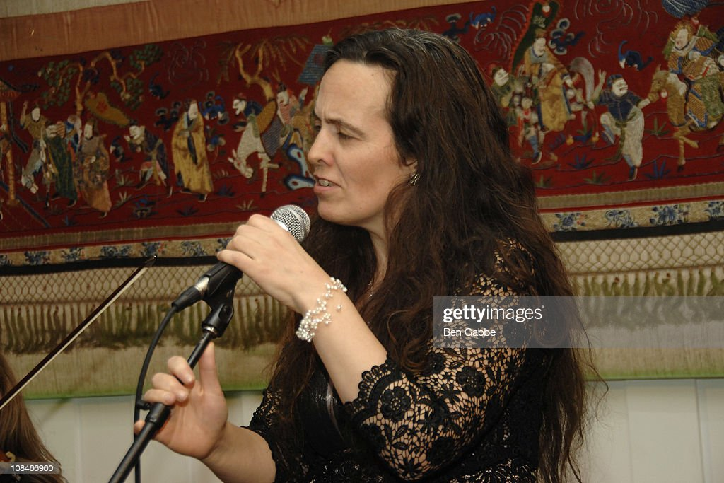 Susan McKeown performs at the Gold Medal of Honor for Lifetime Achievement in Music at The National Arts Club on January 27, 2011 in New York City.