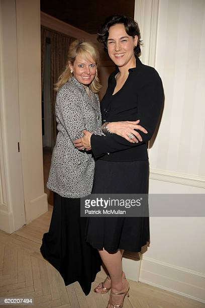 Susan Miller and Angela Cason attend TINA BROWN VICKY WARD and LA MER host a party honoring SUSAN NAGEL'S new book Marie Therese at Tina Brown and...