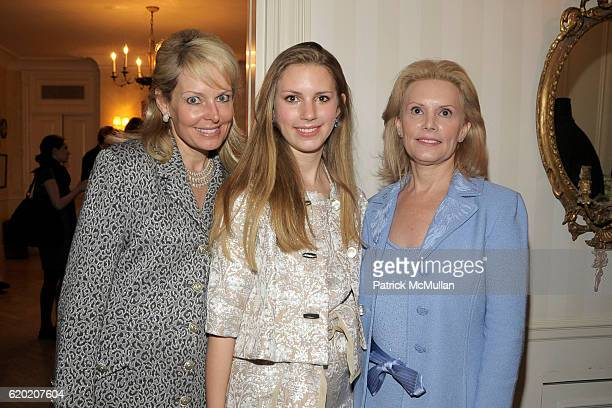 Susan Miller Hadley Nagel and Susan Nagel attend TINA BROWN VICKY WARD and LA MER host a party honoring SUSAN NAGEL'S new book Marie Therese at Tina...