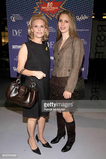 Susan Nagel and Hadley Nagel attend 50 Fabulous Females to Benefit Love Heals at Diane von Furstenberg Studio on November 10 2008 in New York City