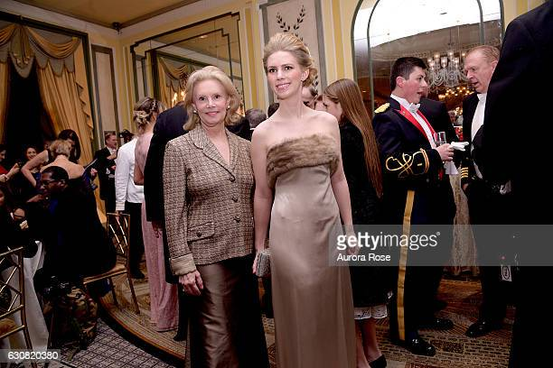 Susan Nagel and Hadley Nagel attend 62nd International Debutante Ball at The Pierre Hotel on December 29 2016 in New York City