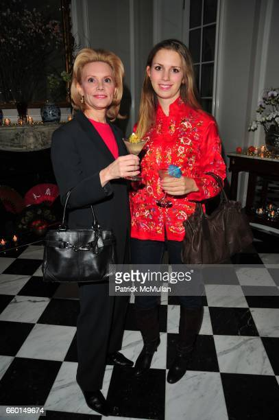 Susan Nagel and Hadley Nagel attend VANESSA NOEL hosts Chinese New Year cocktail party celebrating The Year Of The OX at Vanessa Noel NYC on January...
