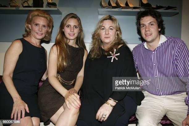 Susan Nagel Hadley Nagel Vanessa Noel and Michael Thom attend SONYA ROLIN IRENE ZELINSKY present the launch of Traveling Atelier LA MODE REVIENT at...