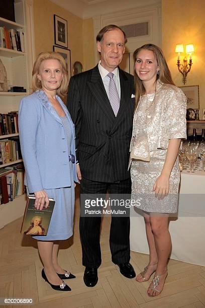 Susan Nagel Jon Nagel and Hadley Nagel attend TINA BROWN VICKY WARD and LA MER host party honoring SUSAN NAGEL'S new book Marie Therese at Tina Brown...