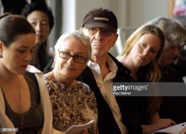 Susan Nimoy and Leonard Nimoy attend Yeohlee Spring 2010 during Mercedes-Benz Fashion Week at 225 West 35th Street on September 14, 2009 in New York...