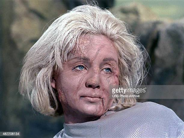 Susan Oliver as Vina while she is turning to true appearance in the STAR TREK The Original Series episode The Cage This is the pilot episode...