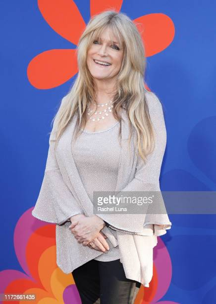 "Susan Olsen attends the premiere of HGTV's ""A Very Brady Renovation"" at The Garland Hotel on September 05, 2019 in North Hollywood, California."