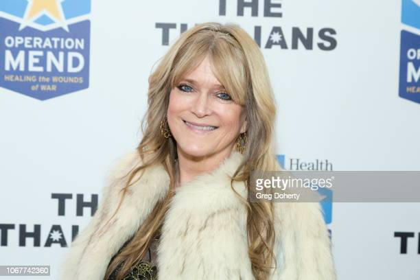 Susan Olsen attends The Thalians Holiday Party with President Kira Reed Lorsch Chair at Bel Air Country Club on December 1 2018 in Los Angeles...