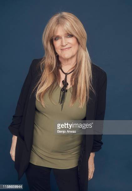 Susan Olsen of Discovery's 'Brady Bunch' poses for a portrait during the 2019 Summer TCA Portrait Studio at The Beverly Hilton Hotel on July 25 2019...