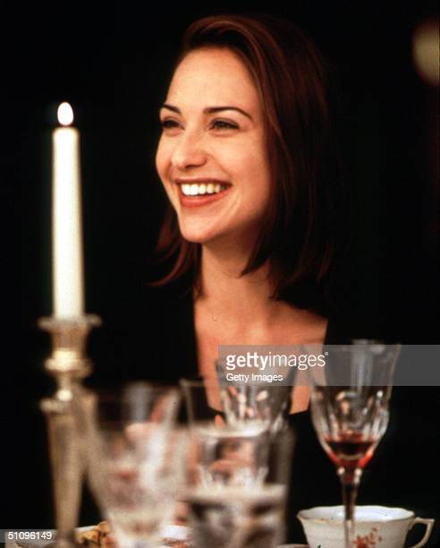 Susan Parrish Shares An Intimate Moment With A Mysterious Presence Known Only As Joe Black In The Latest Universal Pictures Release 'Meet Joe Black'
