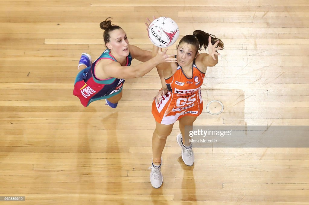 Super Netball Rd 5 - Giants v Vixens