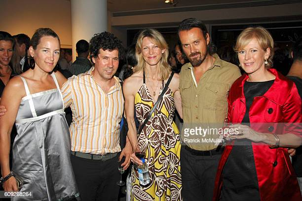 Susan Plagemann Jay Strell Tamsin Smith Rogan and Joanna Coles attend MARIE CLAIRE Charity Auction Party for photographer HELENA CHRISTENSEN at Milk...