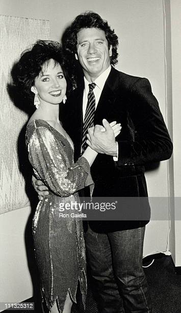 Susan Powell and Tom Wopat during Gala Theater Party for Cast of 'Olympus On My Mind' at Marriott Marquis Hotel in New York City New York United...