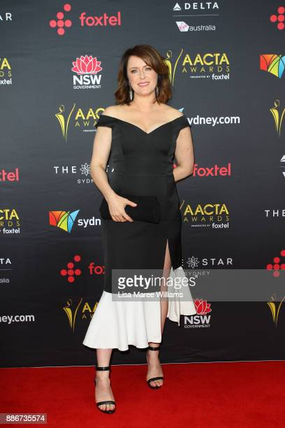 Susan Prior attends the 7th AACTA Awards Presented by Foxtel | Ceremony at The Star on December 6 2017 in Sydney Australia