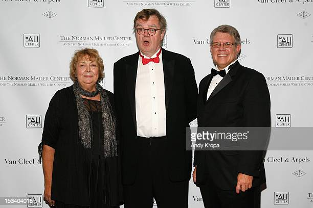 Susan Reese Garrison Keillor and Doug Hesse attend the Norman Mailer Center 4th Annual Benefit Gala on October 4 2012 in New York City