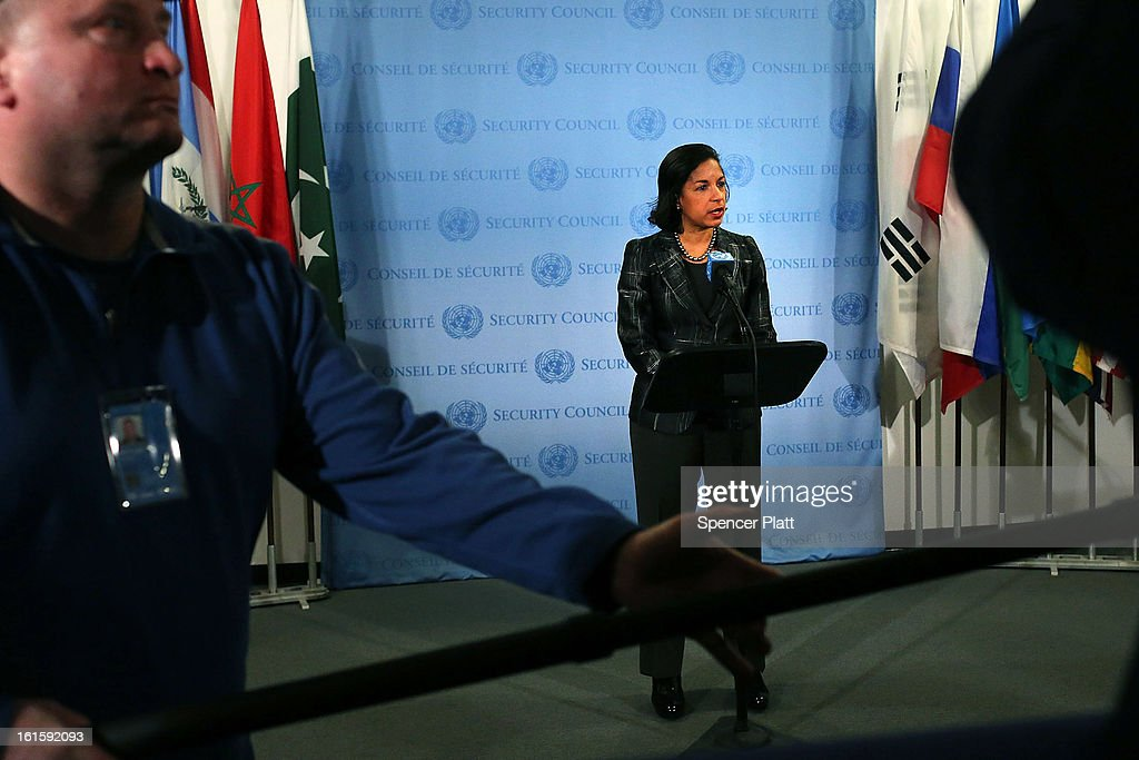 United Nations Security Council Holds Meeting On North Korea's Latest Nuclear Test