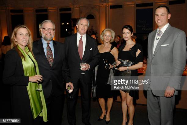 Susan Rockefeller David Rockefeller Jr Brian Henderson Vivian Henderson Alexis Henderson and Andrew Lee attend INFINITY OF NATIONS Gala at National...