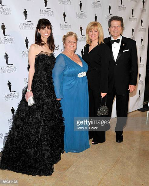 Susan Rosen Lynch Marissa Coughlan Bonnie Hunt and Patrick Wayne attend the 24th Annual Odyssey Ball at the Beverly Hilton Hotel on April 18 2009 in...