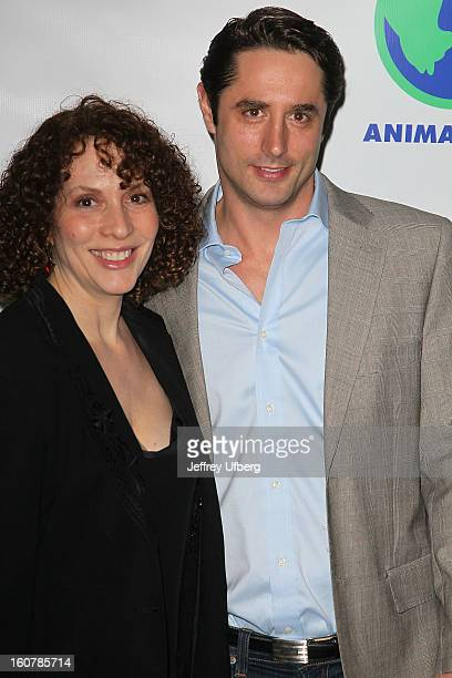 Susan Rubin and Lorenzo Borghese attend Animal AID One Year Anniversary Celebration at Thomson Hotel LES on February 5, 2013 in New York City.